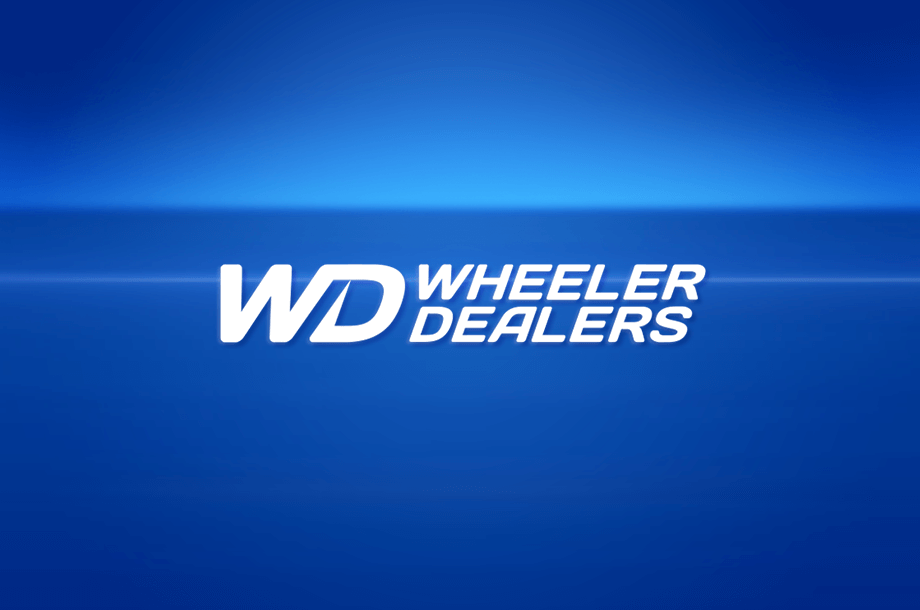 Logo do programa Wheeler Dealers.
