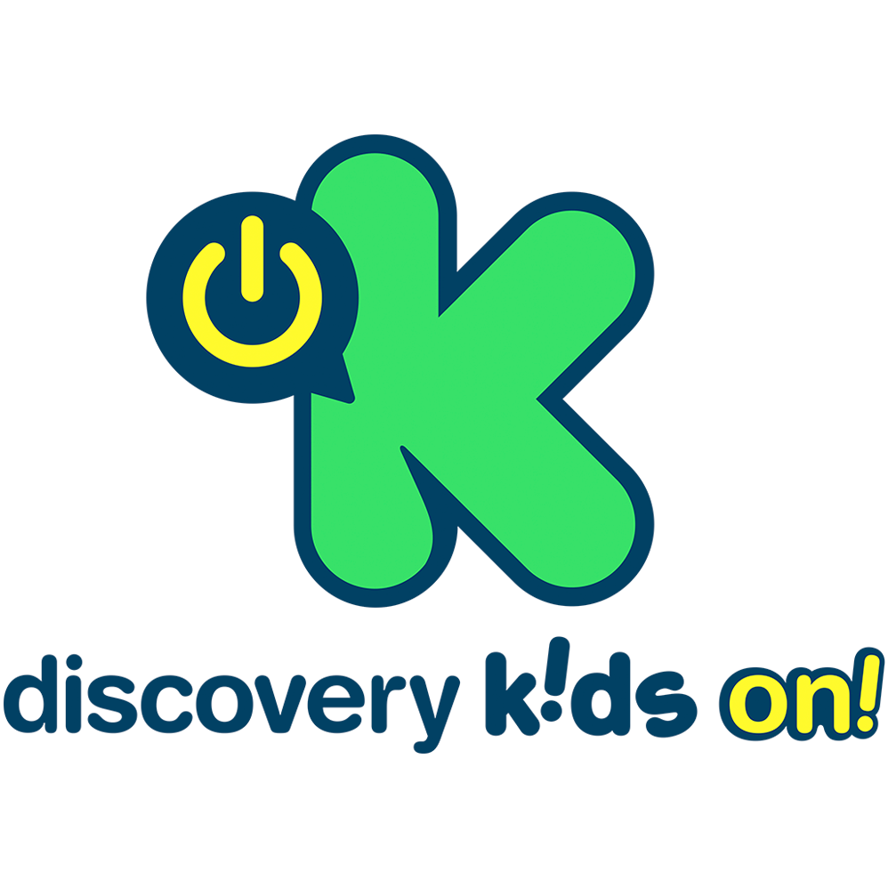 Logo Discovery Kids ON!