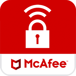 Logo do App McAfee Safe Connect