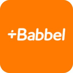 Logo do Aplicativo Babbel