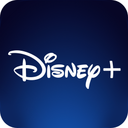Logo do app Disney+
