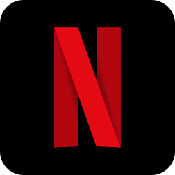 Ícone do aplicativo Netflix.