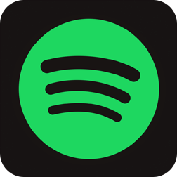 Ícone do app Spotify.