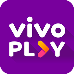 Logo do app Vivo Play.