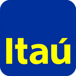 Logo do banco Itaú.