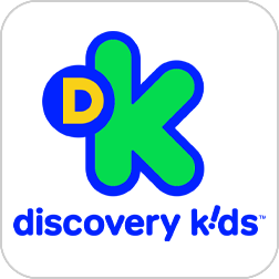 Logo do canal Discovery Kids