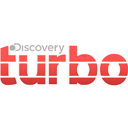 Logo do canal Discovery Turbo