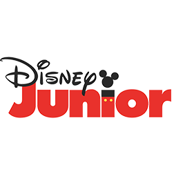 Logo do canal Disney Junior
