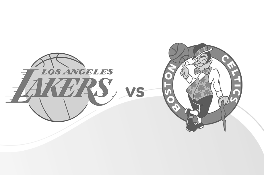 Lakers versus Boston Celtics