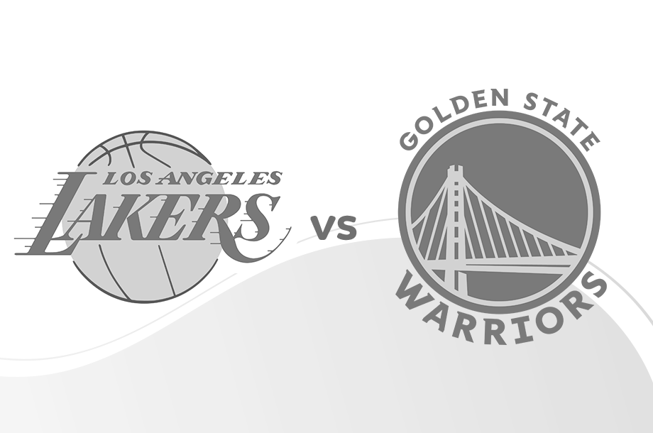Lakers versus Warriors