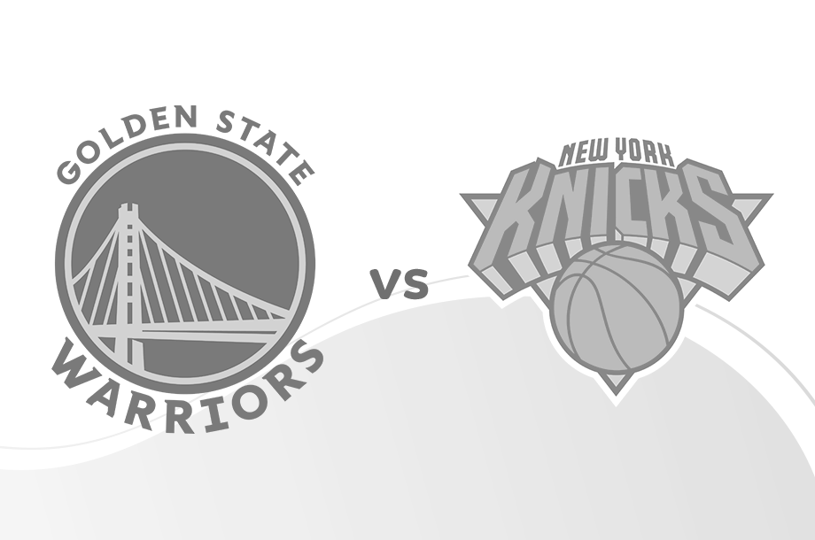 Warriors versus Knicks