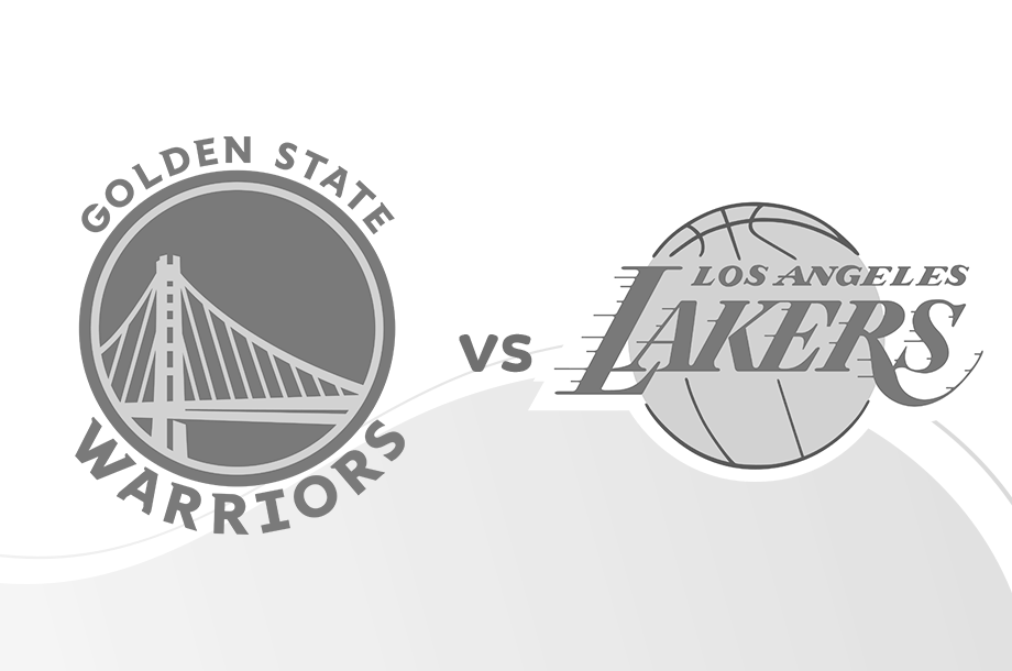 Warriors versus Lakers