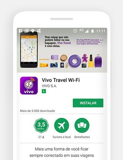 Como usar o vivo travel wifi